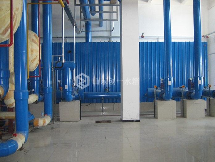 北京瀛海三元乳业冷冻机房项目-玻璃钢直播吧手机版足球直播